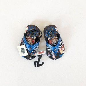 NWT Avengers Flip Flops